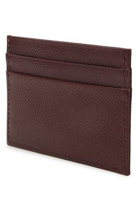 Женский футляр для кредитных карт DOLCE & GABBANA бордового цвета, арт. BI0330/AU771 | Фото 2