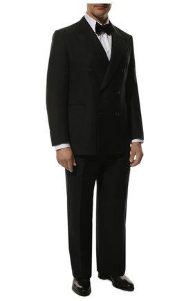 Шерстяной костюм с двубортным пиджаком | Фото №1