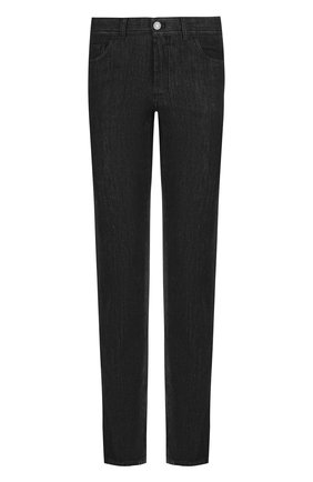 Мужские джинсы прямого кроя BRIONI черного цвета, арт. SPLE0L/07D18/CHAM0NIX | Фото 1
