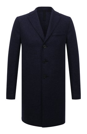 Мужской шерстяное пальто HARRIS WHARF LONDON синего цвета, арт. C9101MLK | Фото 1