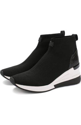 Текстильные кроссовки Skyler на платформе | Фото №1