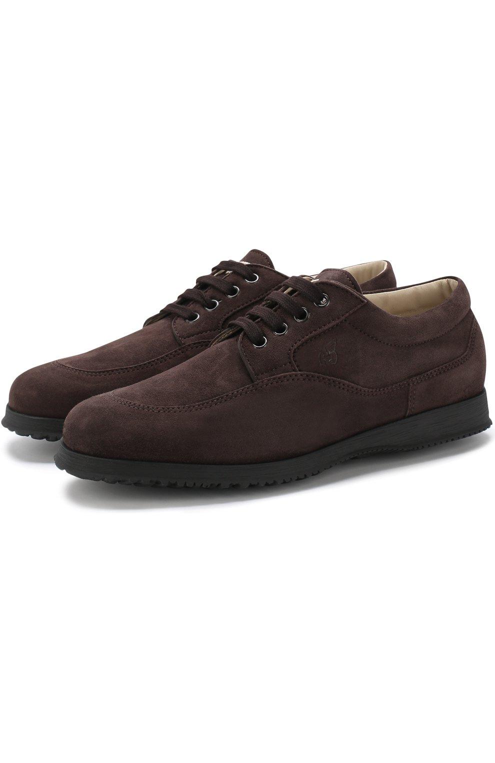 Замшевые ботинки Traditional на шнуровке | Фото №1