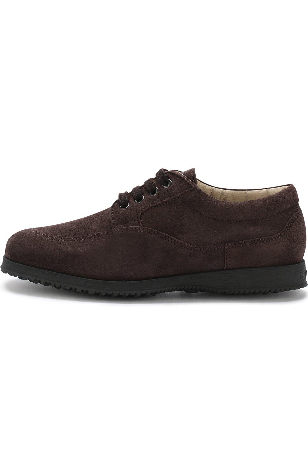 Замшевые ботинки Traditional на шнуровке | Фото №3