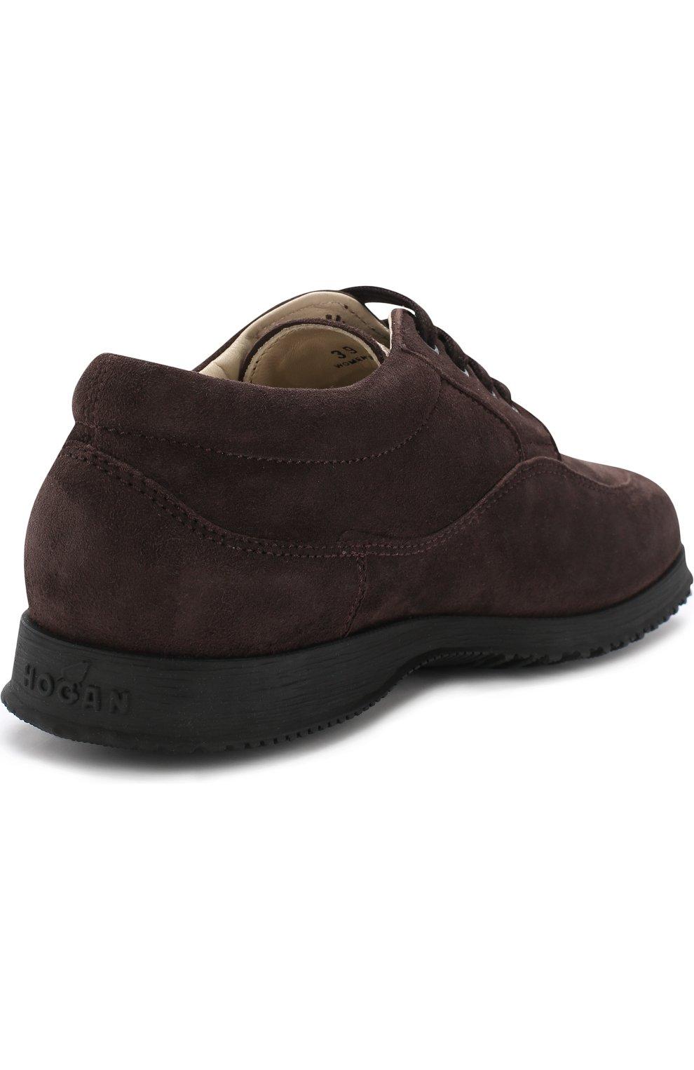 Замшевые ботинки Traditional на шнуровке | Фото №4