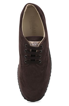 Замшевые ботинки Traditional на шнуровке | Фото №5