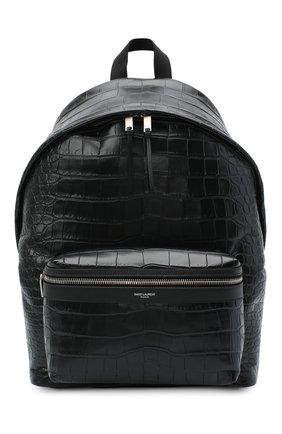 Кожаный рюкзак City с тиснением | Фото №1