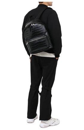 Кожаный рюкзак City с тиснением | Фото №2