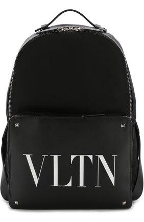Текстильный рюкзак Valentino Garavani с отделкой из кожи | Фото №1