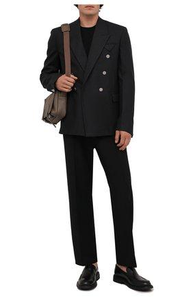 Мужской шерстяной джемпер BOSS черного цвета, арт. 50378575 | Фото 2