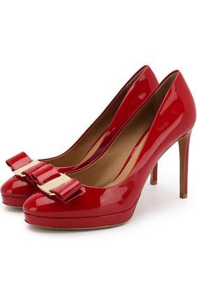 Лаковые туфли Osimo на шпильке | Фото №1