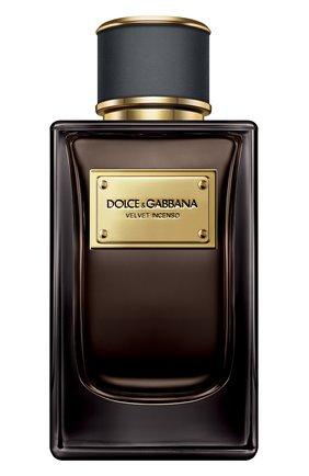 Мужской парфюмерная вода velvet collection incenso DOLCE & GABBANA бесцветного цвета, арт. 8400050DG | Фото 1