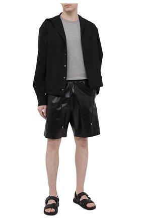 Мужская хлопковая футболка ACNE STUDIOS светло-серого цвета, арт. 25E173/M   Фото 2