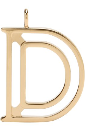 Женские подвеска для сумки alphabet key CHLOÉ золотого цвета, арт. CHC15WK00DCB79DA | Фото 1