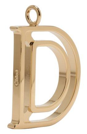 Женские подвеска для сумки alphabet key CHLOÉ золотого цвета, арт. CHC15WK00DCB79DA | Фото 2