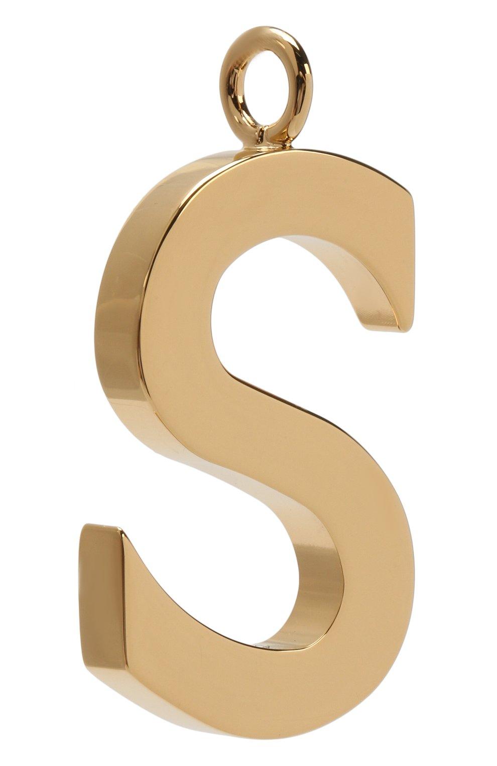 Женские подвеска для сумки alphabet key CHLOÉ золотого цвета, арт. CHC15WK00SCB79DA   Фото 2