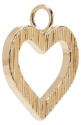 Женские подвеска для сумки alphabet key CHLOÉ золотого цвета, арт. CHC18AK907CB79DA | Фото 2