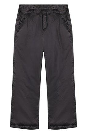 Утепленные брюки прямого кроя | Фото №1