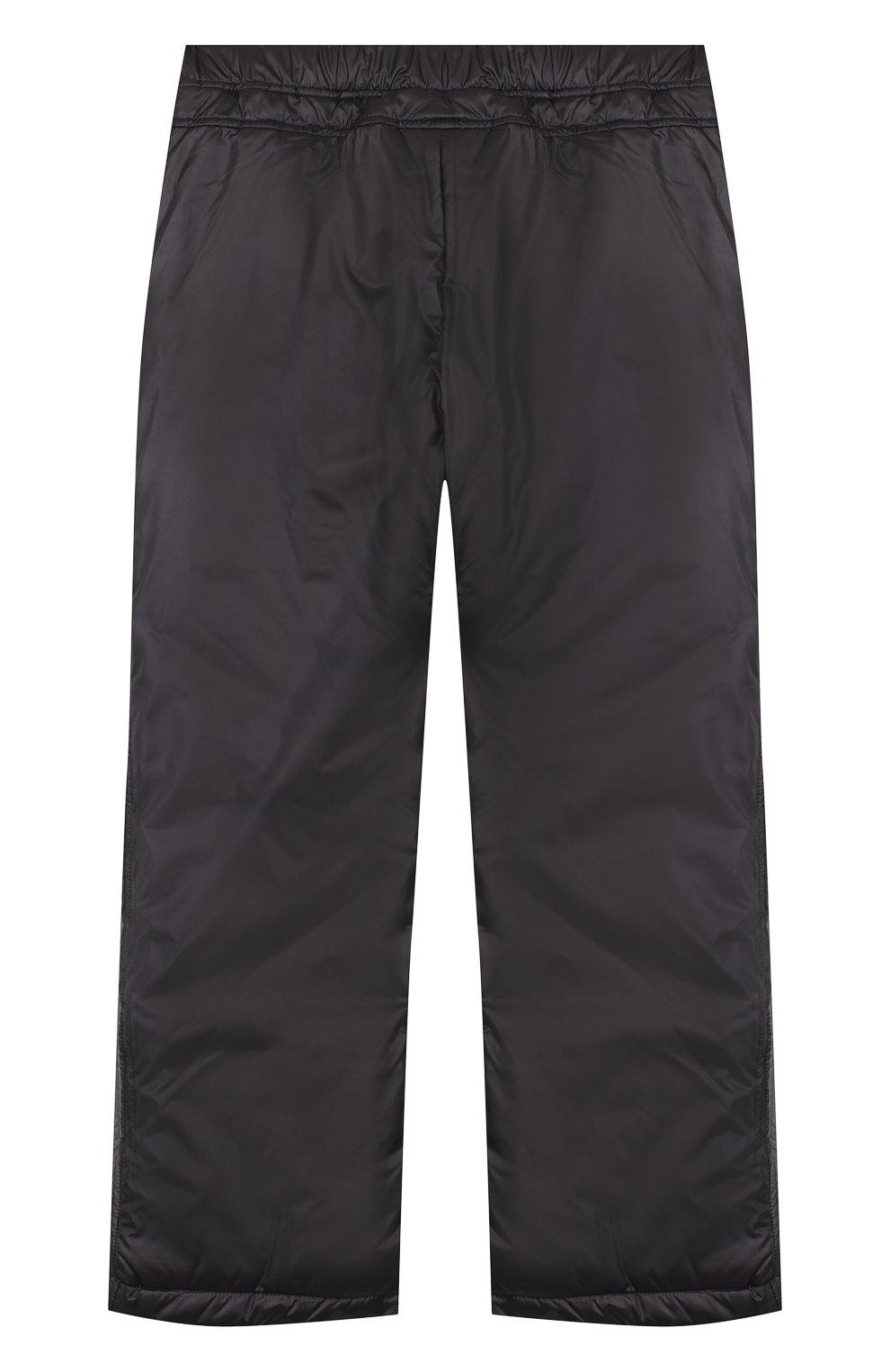 Утепленные брюки прямого кроя | Фото №2