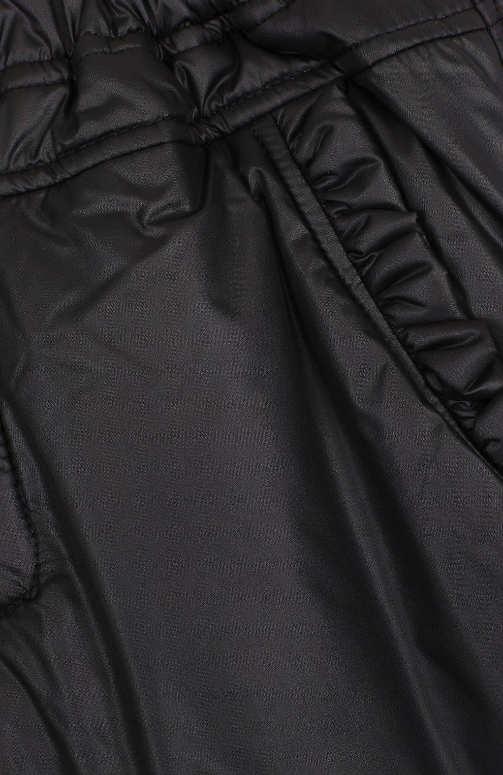 Утепленные брюки прямого кроя | Фото №3