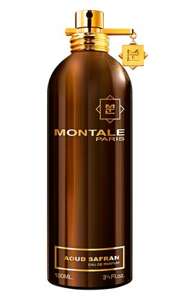 Женский парфюмерная вода aoud safran MONTALE бесцветного цвета, арт. 3760260451093 | Фото 1