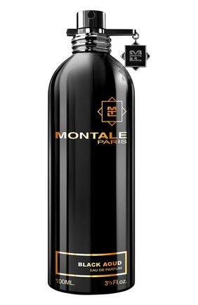 Мужской парфюмерная вода black aoud MONTALE бесцветного цвета, арт. 3760260450034 | Фото 1