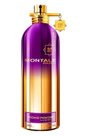 Женский парфюмерная вода orchid powder MONTALE бесцветного цвета, арт. 3760260456180 | Фото 1