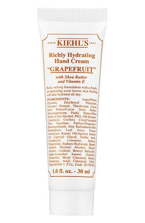 Крем для рук Grapefruit Kiehl`s | Фото №1