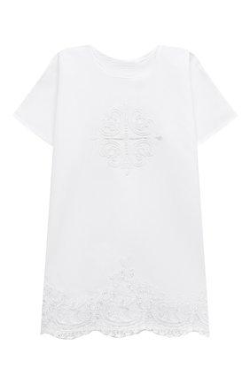 Крестильный набор Святец из 3 изделий Chepe белого цвета | Фото №1