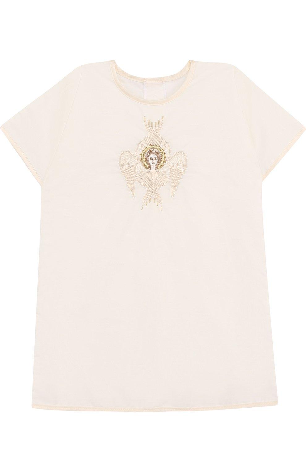Детского крестильный набор шестикрылый серафим из 3 изделий CHEPE белого цвета, арт. 371225   Фото 2