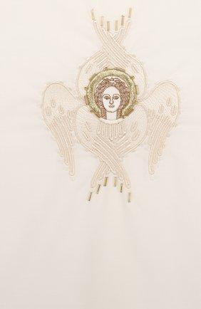 Детского крестильный набор шестикрылый серафим из 3 изделий CHEPE белого цвета, арт. 371225   Фото 5