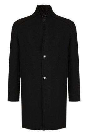 Шерстяное пальто на меховой подкладке | Фото №1