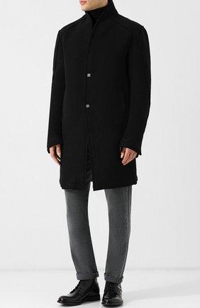 Шерстяное пальто на меховой подкладке | Фото №2