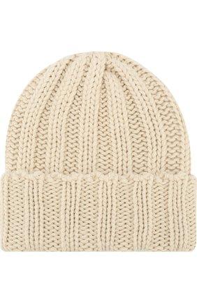 Мужская кашемировая шапка INVERNI белого цвета, арт. 2924CM | Фото 1