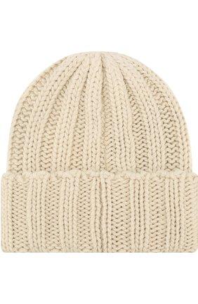 Мужская кашемировая шапка INVERNI белого цвета, арт. 2924CM | Фото 2
