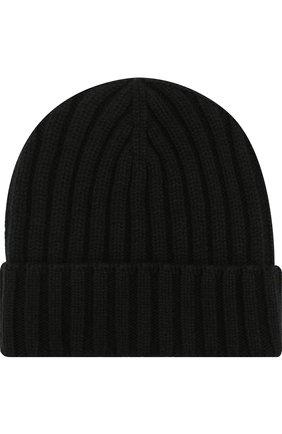 Мужская шерстяная шапка INVERNI черного цвета, арт. 4213CM | Фото 1