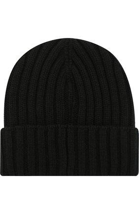 Мужская шерстяная шапка INVERNI черного цвета, арт. 4213CM | Фото 2