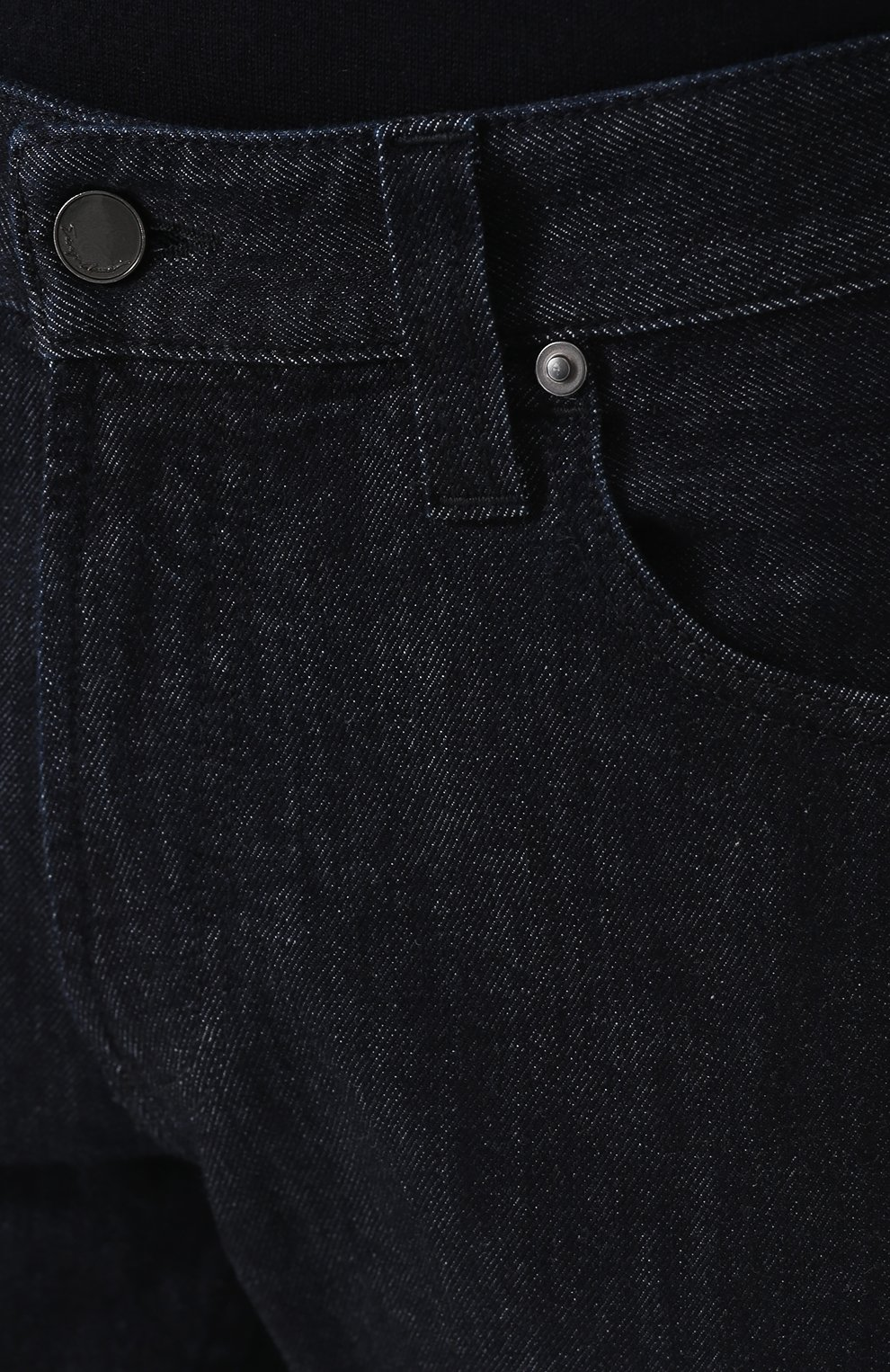 Мужские джинсы прямого кроя GIORGIO ARMANI синего цвета, арт. 6ZSJ15/SD30Z   Фото 5