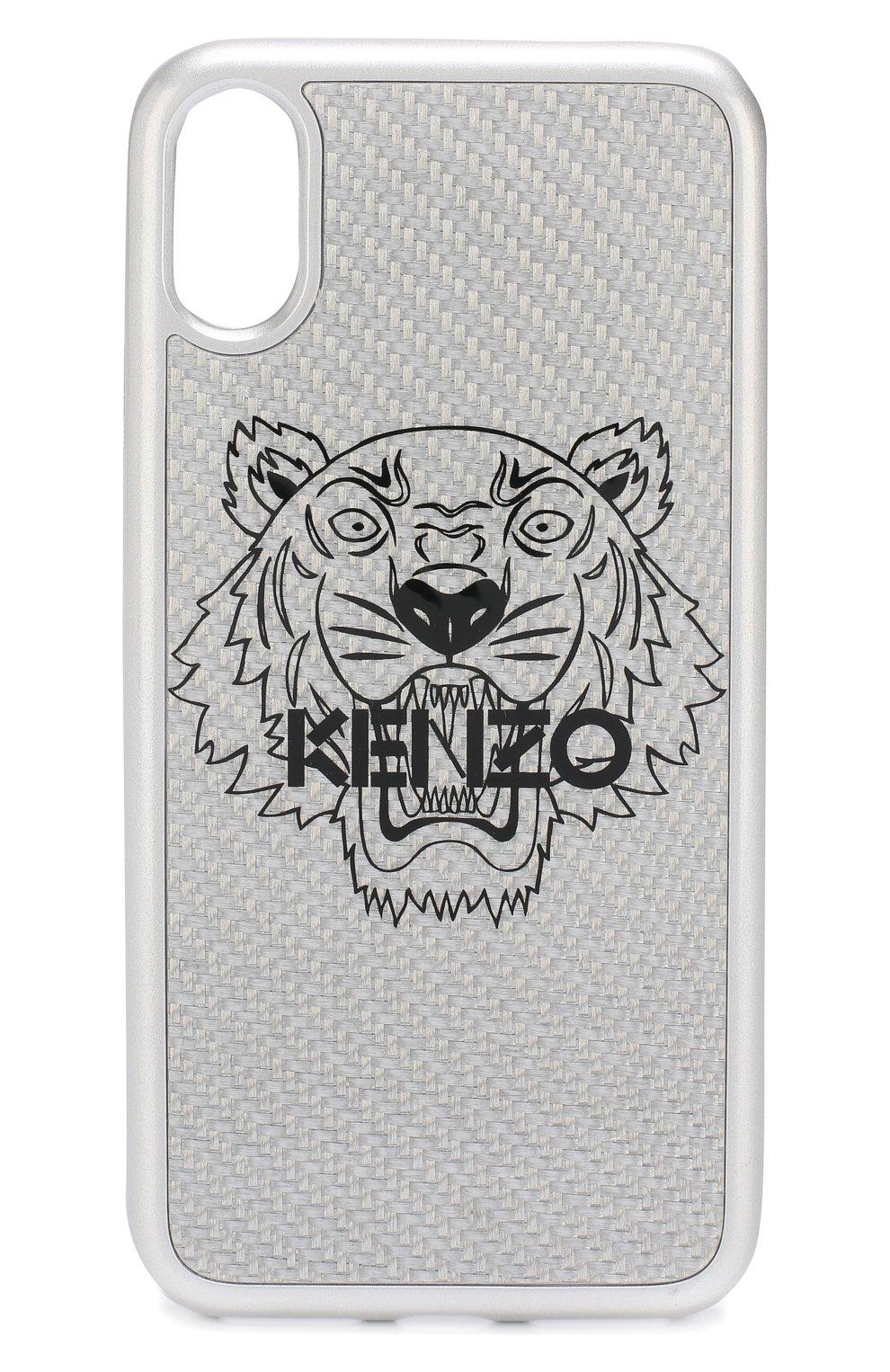Чехол для iPhone X с принтом Kenzo  | Фото №1