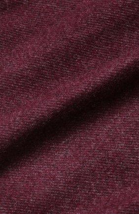 Мужской кашемировый шарф BRUNELLO CUCINELLI бордового цвета, арт. MSC617AG | Фото 2