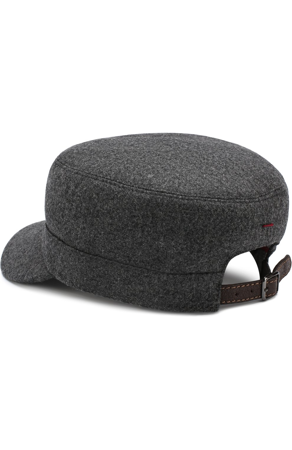 Мужская шерстяная кепка BRUNELLO CUCINELLI серого цвета, арт. M038P9955 | Фото 2