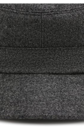 Мужская шерстяная кепка BRUNELLO CUCINELLI серого цвета, арт. M038P9955 | Фото 3