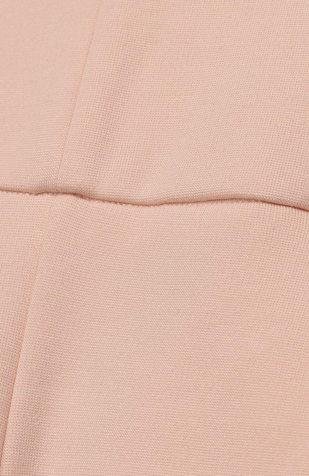 Комбинезон из смеси хлопка и вискозы Chloé светло-розового цвета   Фото №3