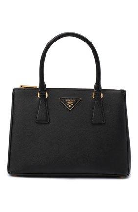 Женская сумка-тоут galleria PRADA черного цвета, арт. 1BA863-NZV-F0002-1 | Фото 1