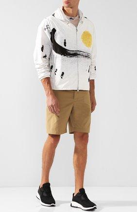 Мужская куртка alexandrite на молнии с капюшоном MONCLER белого цвета, арт. D1-091-41649-05-549RJ | Фото 2