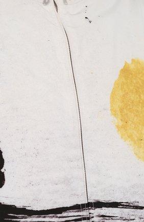 Мужская куртка alexandrite на молнии с капюшоном MONCLER белого цвета, арт. D1-091-41649-05-549RJ | Фото 5