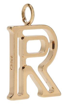 Женские подвеска для сумки alphabet key CHLOÉ золотого цвета, арт. CHC16AK03RCB79DA | Фото 2