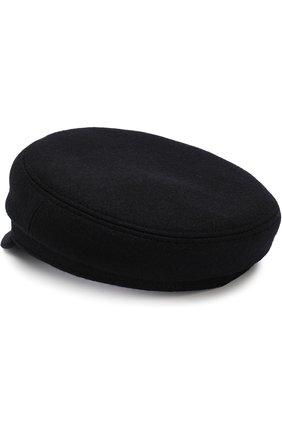 Шерстяное кепи Isabel Marant темно-серого цвета   Фото №1