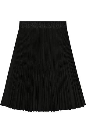 Плиссированная юбка с эластичным поясом | Фото №1