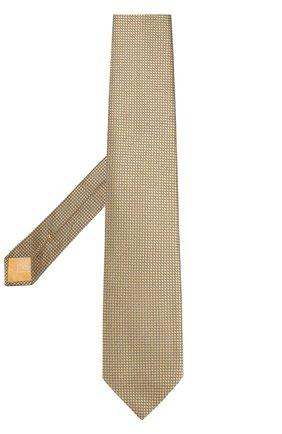 Шелковый галстук с узором   Фото №2