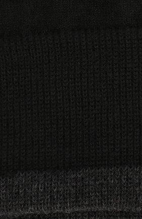 Однотонные шерстяные носки Norveg черные | Фото №1